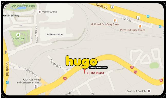fb3dba577a On the road FAQs - Hugo Campervan Rentals - Auckland   Christchurch ...